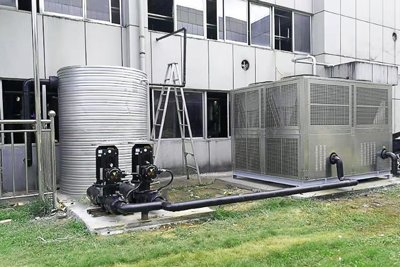 Air-cooled Industrial Chiller With Stainless Steel Frame On Demand