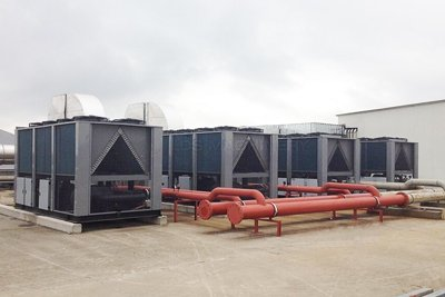 Air-cooled Modular Chillers / Process Chiller Cooling System show case