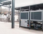 Air-Cooled Screw Chiller for Painting and Electrophoresis Process